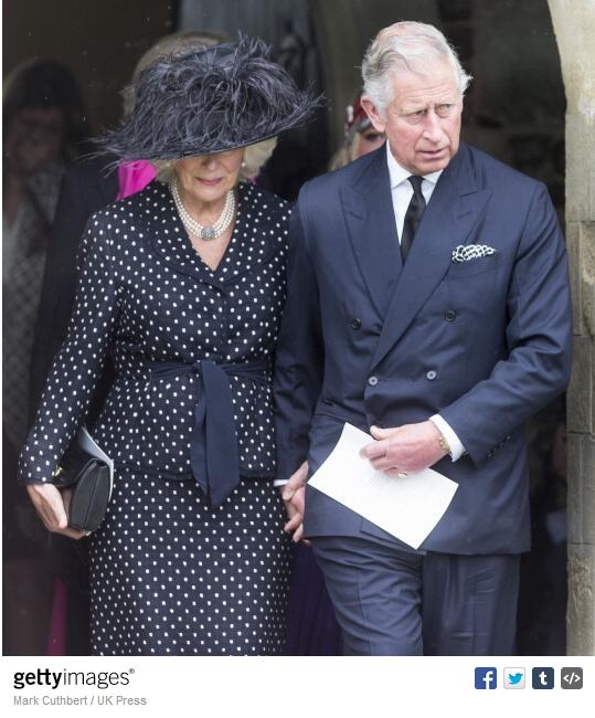 Duchess of Cornwall, May 1, 2014 in Philip Treacy   Royal Hats