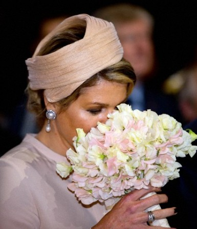 Queen Máxima,May 6, 2014 in Fabienne Delvigne | Royal Hats