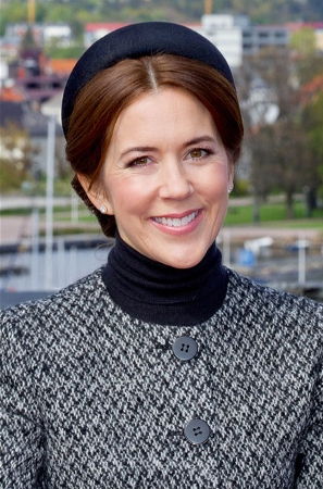 Crown Princess Mary, May 9, 2014 in Susanne Juul | Royal Hats