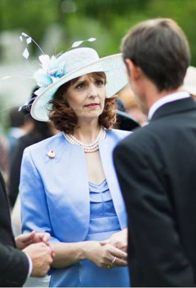 Crown Princess Maria, May 16, 2014 in Kristina Dragomir | Royal Hats
