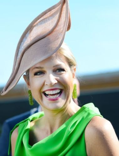Queen Máxima, May 16, 2014 in Fabienne Delvigne | Royal Hats