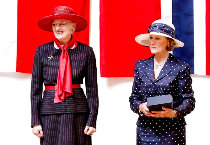 Queen Margrethe and Queen Sonja, May 24, 2014 | Royal Hats