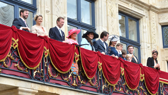 Luxembourg Royal Family, May 25, 2014 | Royal Hats