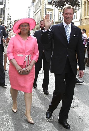 Grand Duchess Maria Teresa, May 25, 2014 | Royal Hats