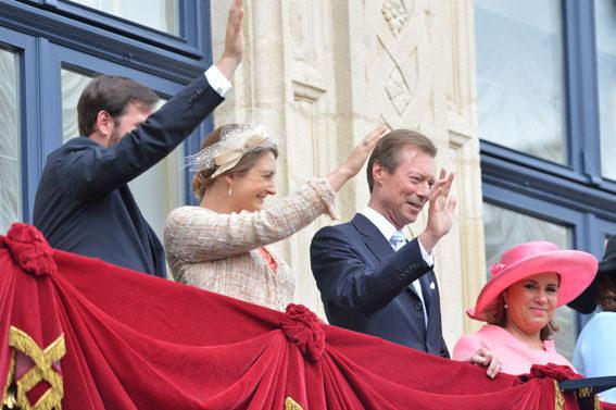 Hereditary Grand Duchess Stéphanie , May 25, 2014 | Royal Hats