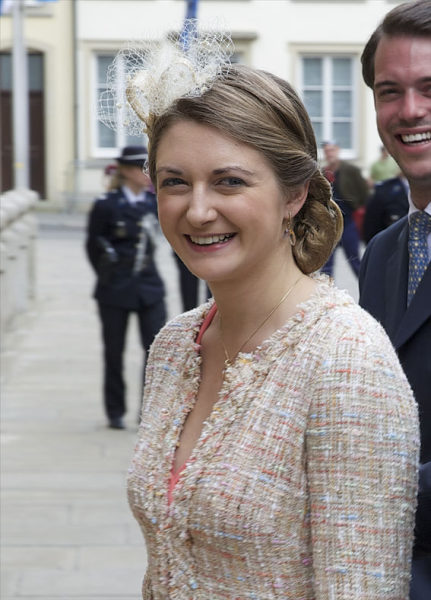 Hereditary Grand Duchess Stéphanie , May 25, 2014 | Royal Hats