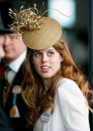 Princess Beatrice, June 19, 2010 in Philip Treacy | Royal Hats