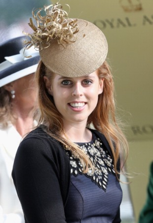 Princess Beatrice, June 20, 2013 in Philip Treacy |Royal Hats