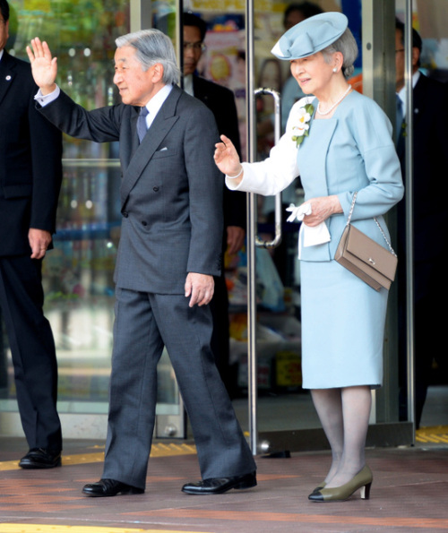 Empress Michiko, May 31, 2014 | Royal Hats