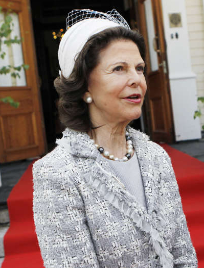 Queen Silvia, June 6, 2014 in Mode Rosa  | Royal Hats
