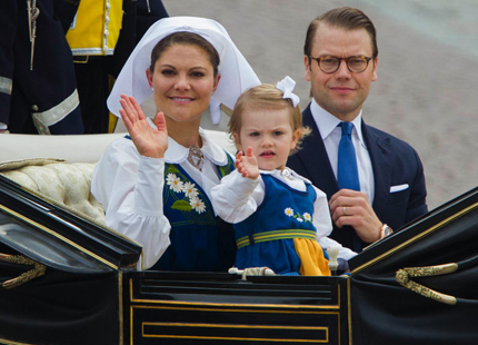 Crown Princess Victoria and Princess Estelle, June 6, 2014 | Royal Hats