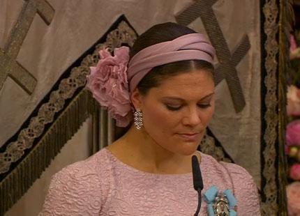 Crown Princess Victoria, June 8, 2014 in Philip Treacy   Royal Hats