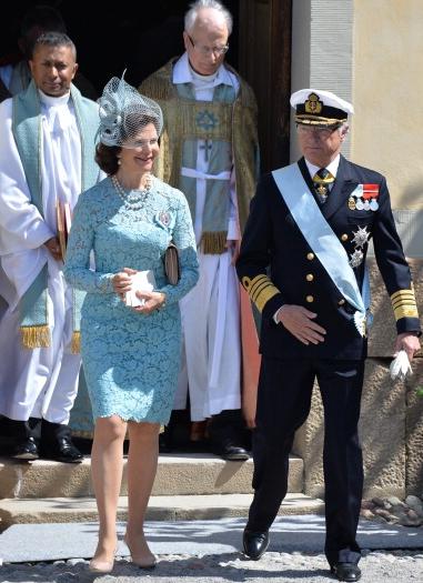 Queen Silvia, June 8, 2014 in Philip Treacy   Royal Hats
