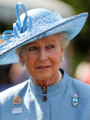 Princess Alexandra of Kent, June 12, 2014 in Rachel Trevor Morgan | Royal Hats