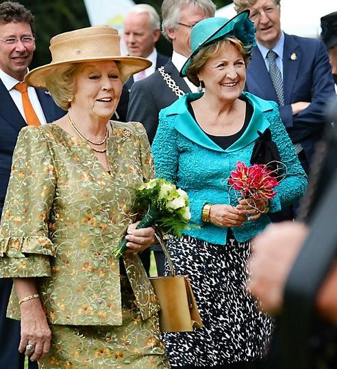 Princess Beatrix and Princess Margriet, June 14, 2014 | Royal Hats