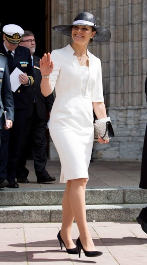 Crown Princess Victoria, June 15, 2014   Royal Hats