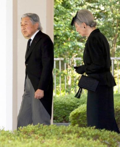 Empress Michiko, June 15, 2014 | Royal Hats