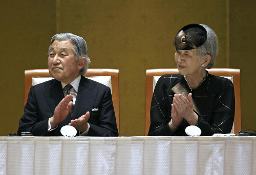 Empress Michiko, June 17, 2014 | Royal Hats