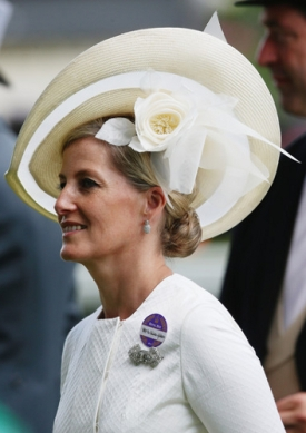 Countess of Wessex, June 18, 2014 in Jane Taylor| Royal Hats