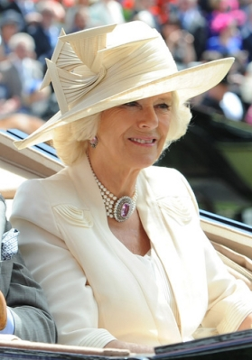 Duchess of Cornwall, June 18, 2014 in Philip Treacy| Royal Hats