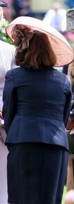 Countess of St. Andrews, June 20, 2014 in Yvette Jelfs| Royal Hats