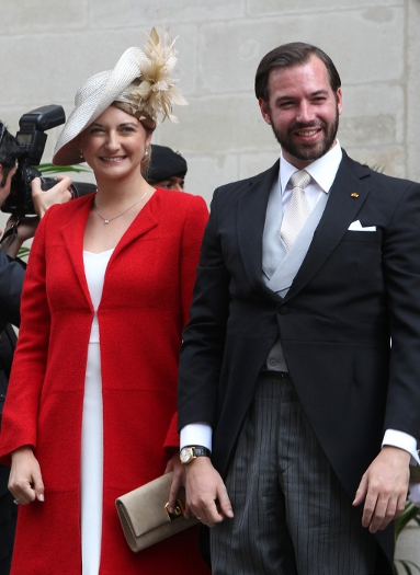 Hereditary Grand Duchess Stéphanie, June 23, 2014 | Royal Hats