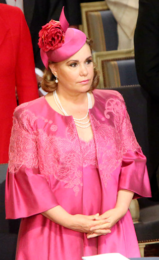 Grand Duchess Maria Teresa, June 23, 2014 in Philip Treacy | Royal Hats