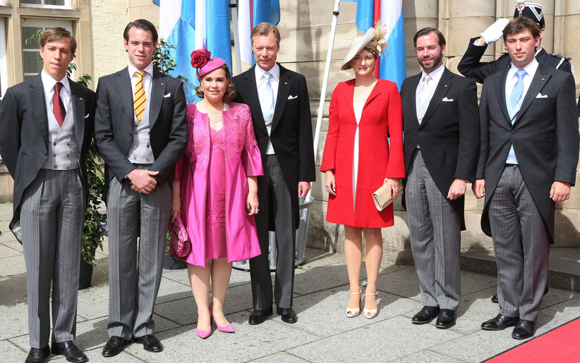 Luxembourg Royal Family, June 23, 2014 | Royal Hats