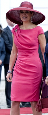 Queen Maxima, June 24, 2014 in Fabienne Delvigne | Royal Hats