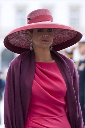 Queen Maxima, June 24, 2014 in Fabienne Delvigne | Royal Hats