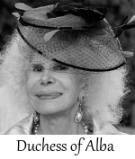 The Late Duchess of Alba
