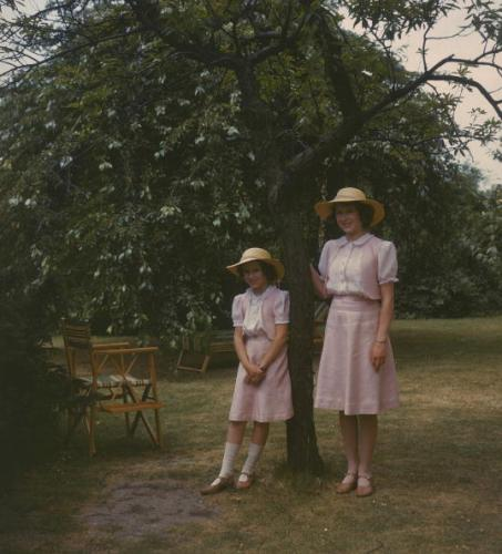 Princess Elizabeth and Princess Margaret, July 8, 1941 | Royal Hats