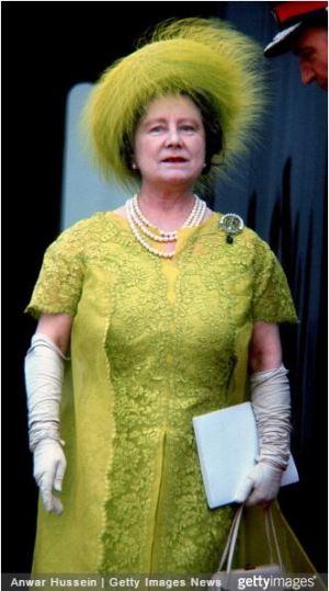Queen Elizabeth the Queen Mother, July 1, 1969   Royal Hats