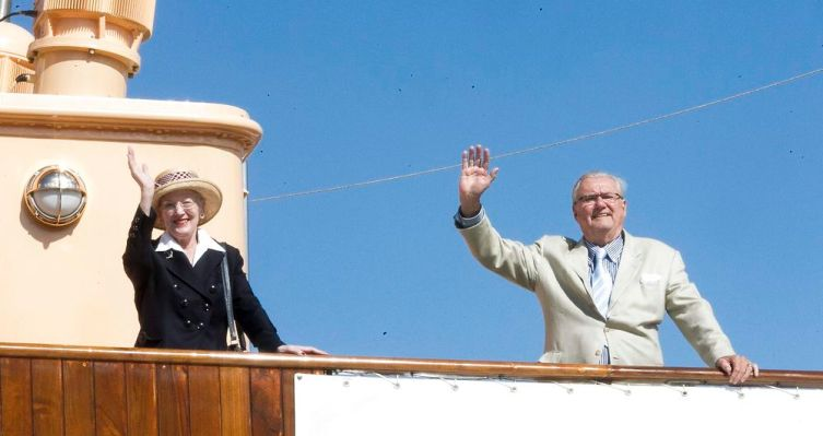 Queen Margrethe, July 1, 2014   Royal Hats