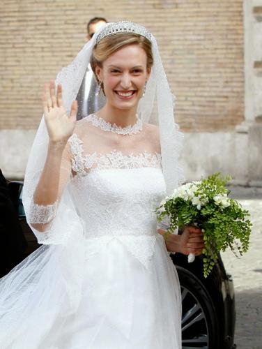Elisabetta Maria Rosboch von Wolkenstein, July 5, 2014 in Valentino   Royal Hats
