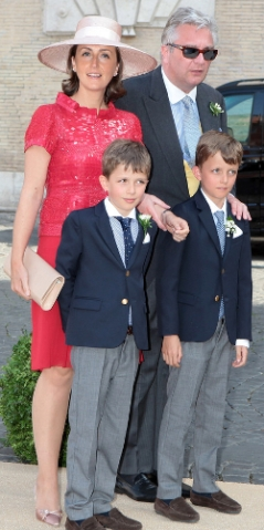 Princess Claire, July 5, 2014 in Fabienne Delvigne | Royal Hats