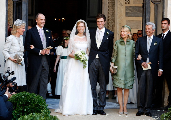 Prince Amedeo, Archduke of Austria-Este and Elisabetta Rosboch von Wolkenstein, July 5, 2014 | Royal Hats