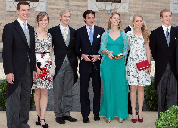 Family of Archduchess Marie Astrid, July 5, 2014 | Royal Hats