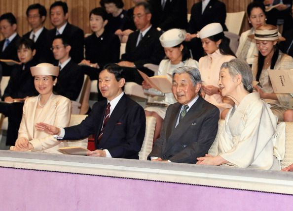 Crown Princess Masako and Takamado Princesses, July 13, 2014 | Royal Hats