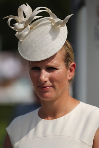 Zara Phillips, July 31, 2014 in Philip Treacy | Royal Hats