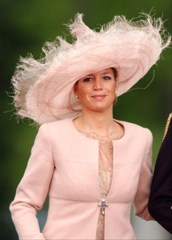 Princess Máxima, May 22, 2004 in Fabienne Delvigne |Royal Hats