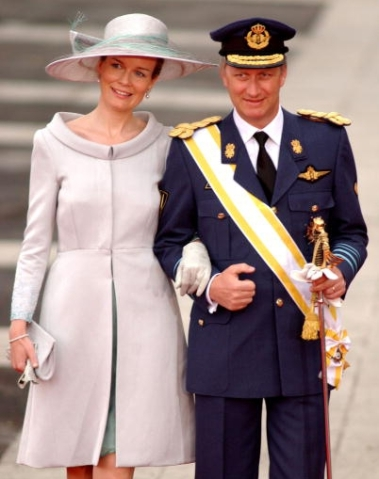 Duchess of Brabant, May 22, 2004 in Fabienne Delvigne| Royal Hats