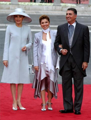 Empress Farah of Iran, May 22, 2004 | Royal Hats