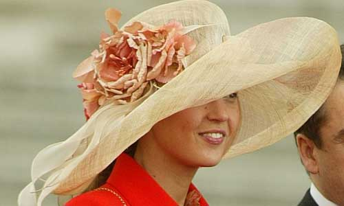 Princess Victoria of Bourbon-Two Sicilies, May 22, 2004 | Royal Hats