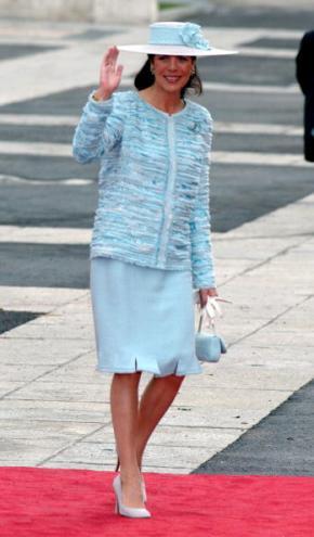Princess Caroline of Hanover and Monaco, May 22, 2004 in Chanel | Royal Hats