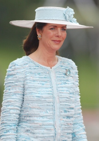 Princess Caroline of Hanover and Monaco, May 22, 2004 in Chanel | Royal Hats