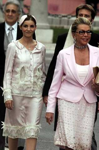 Princess Clotilde of Savoy and The Princess of Naples, May 22, 2004 | Royal Hats