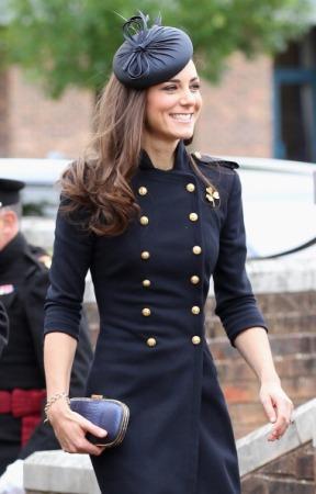 Duchess of Cambridge, June 25, 2011 in Rachel Trevor Morgan   Royal Hats