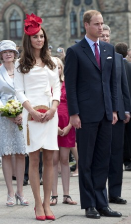 Duchess of Cambridge, July 1, 2011 in Silvia Fletcher for Lock & Co.   Royal Hats