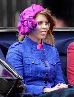 Princess Beatrice, June 16, 2012 in Stephen Jones   Royal Hats
